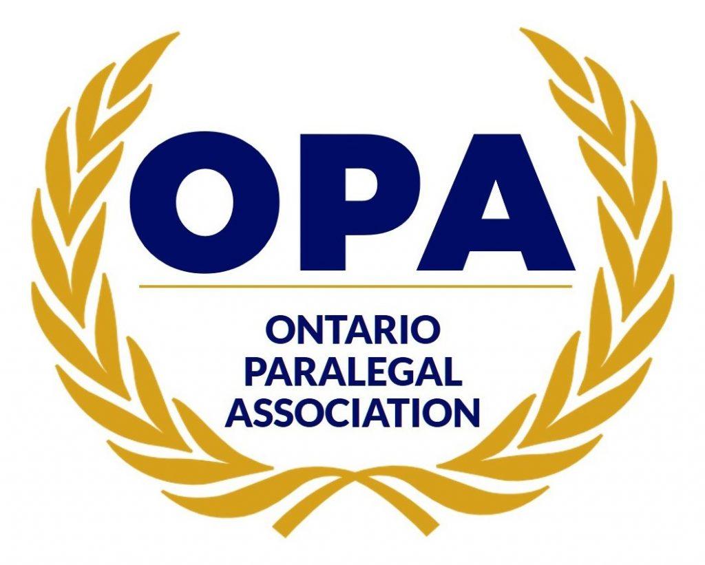 Ontario Paralegal Association Logo